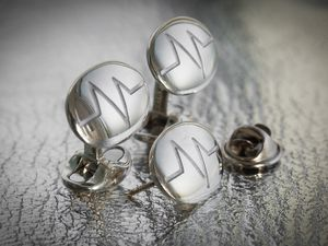 The exclusive cufflinks created by heritage Midlands jewellers, Deakin & Francis