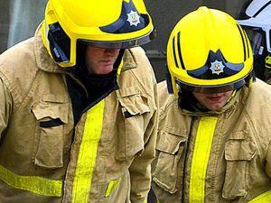 Shrewsbury car fire being treated as arson