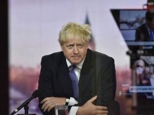 Prime Minister Boris Johnson appears on The Andrew Marr Show