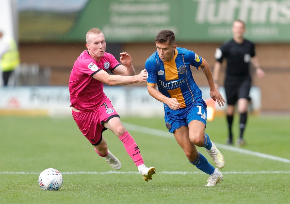 Shrewsbury Town 0 Rochdale 0 - Report and pictures