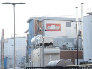 Müller's factory in Market Drayton