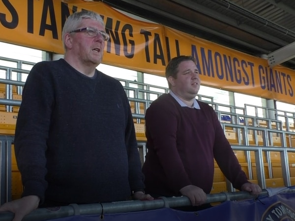 Safe standing pioneers Mike Davis and Roger Groves named Shropshire Star's fans of the season