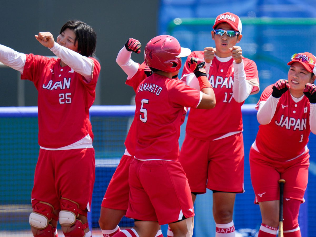 Japan made a winning start to the Olympics in women's softball