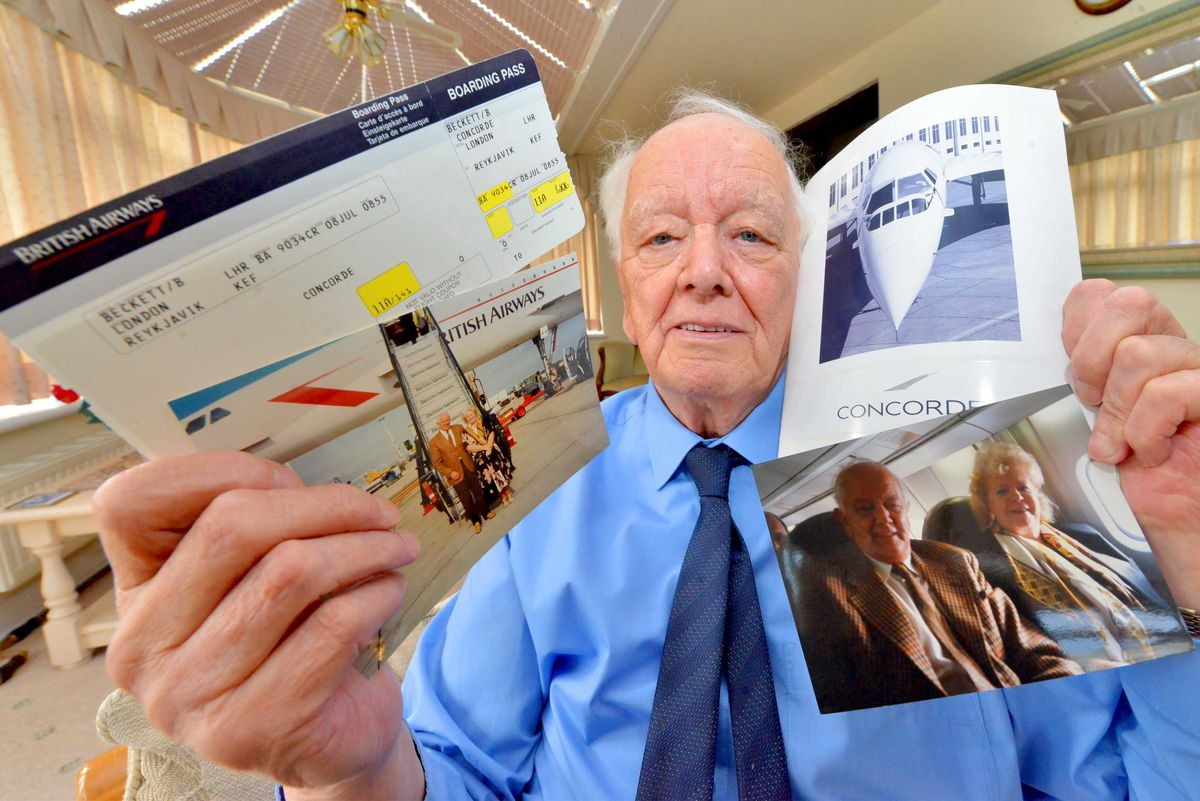 Alan Beckett recalls his time flying on Concorde