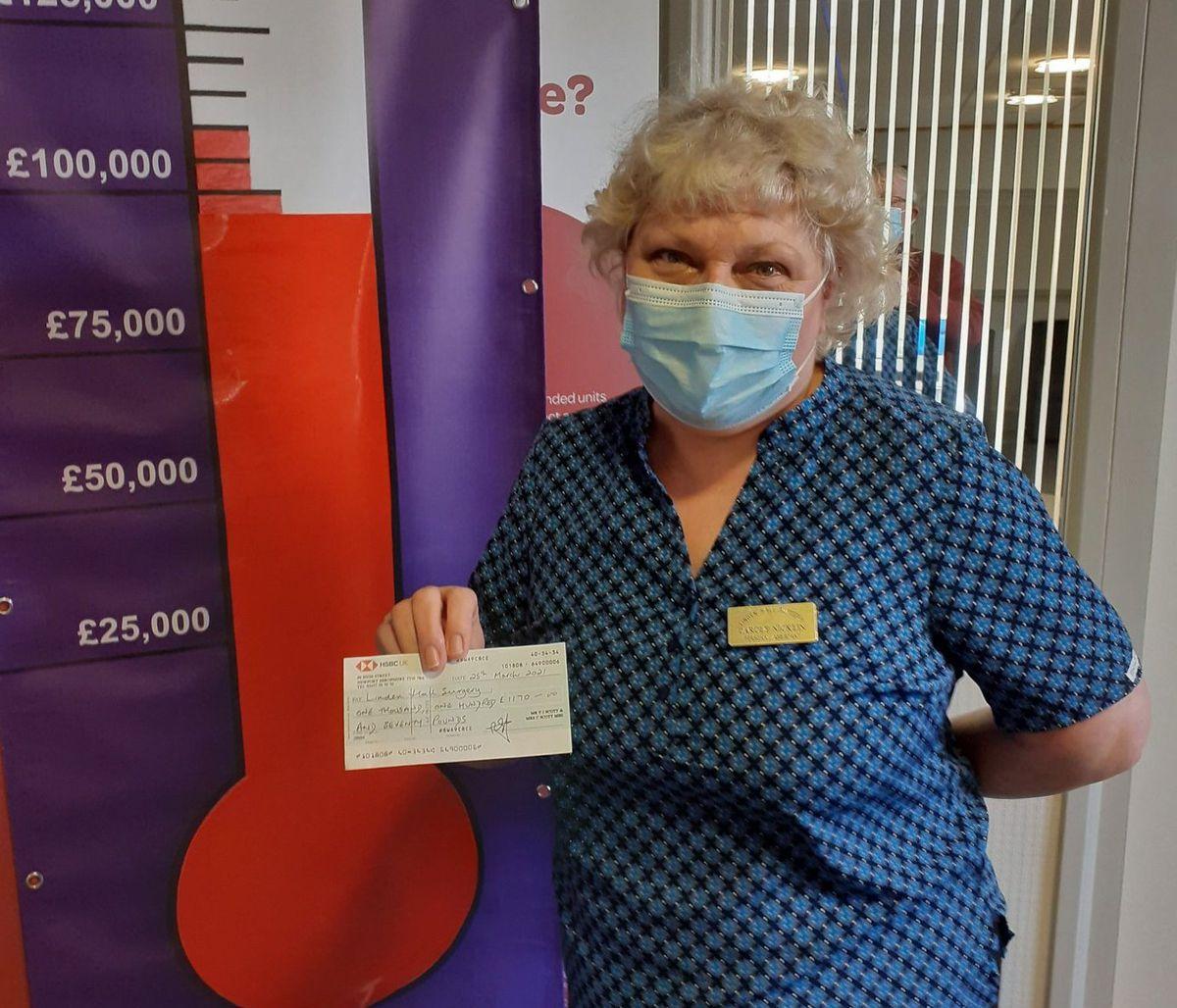 Carol Nicklin, deputy practice manager at Linden Hall Surgery