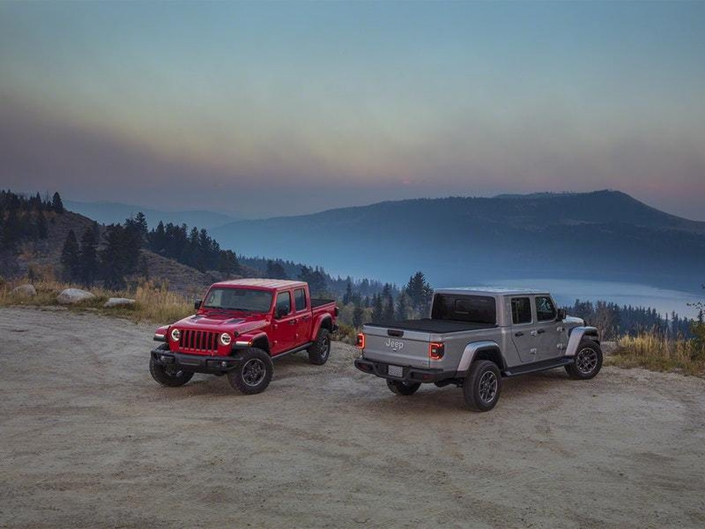 Jeep Gladiator is a Wrangler with a pick-up bed