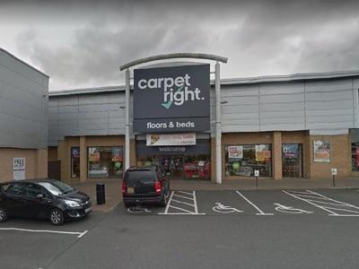 Carpetright to close Telford store