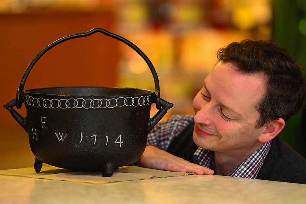 Unique cast iron pot is revealing secrets of the Industrial Revolution