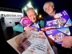 Hundreds of selection boxes donated in Telford appeal