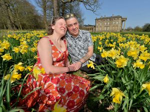 Sally Baguley and Mark Powell found love in lockdown