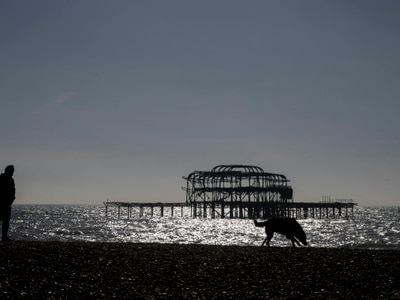 Bodies of two friends pulled from sea off Brighton after dinghy found drifting