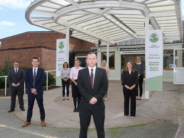 New school launched in Powys with 'teulu' at its heart