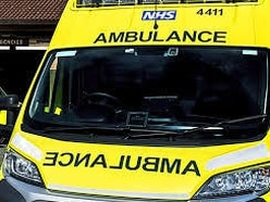 Man cut from car after crash on A5 westbound