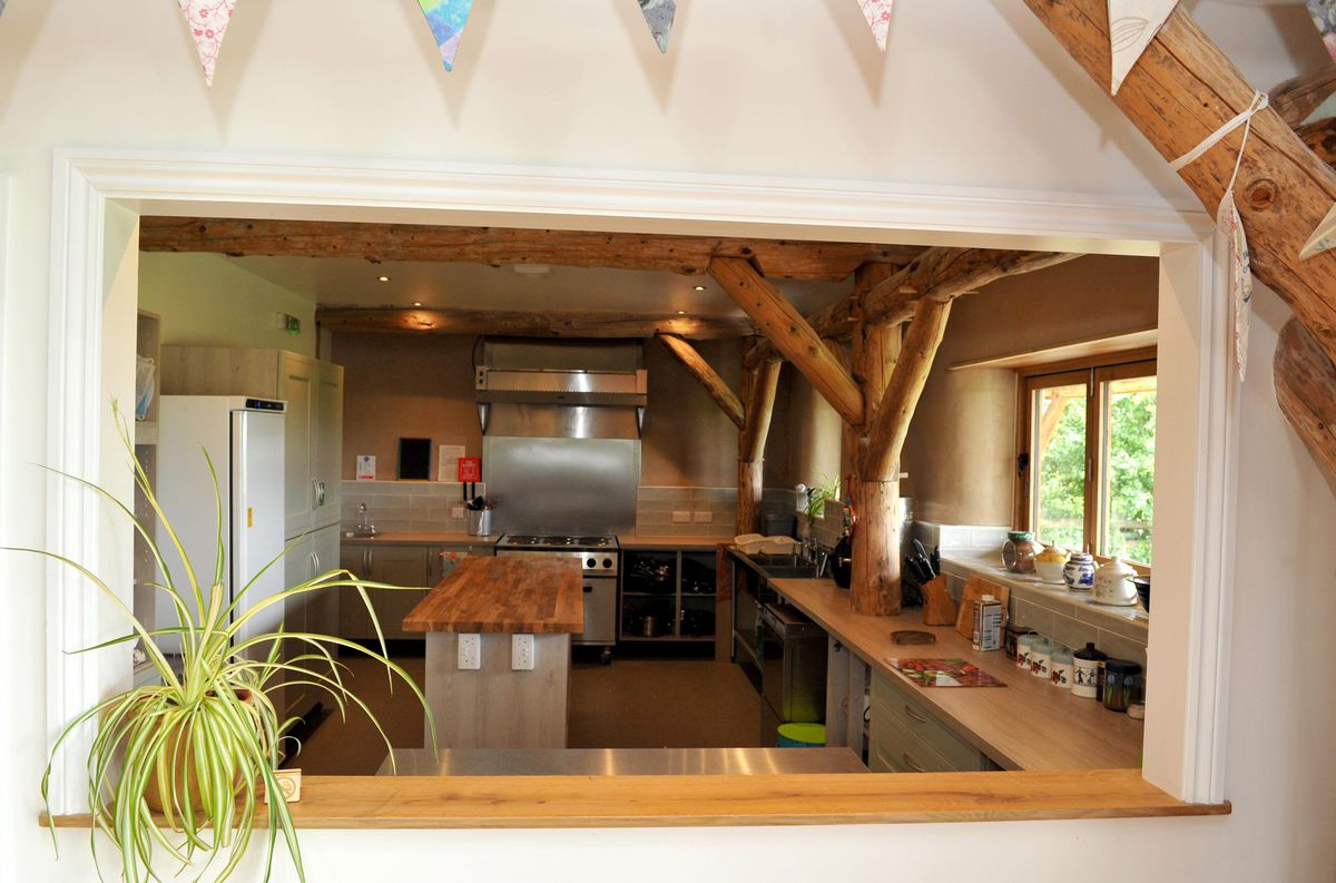 The new bunkhouse at Fordhall Organic Farm