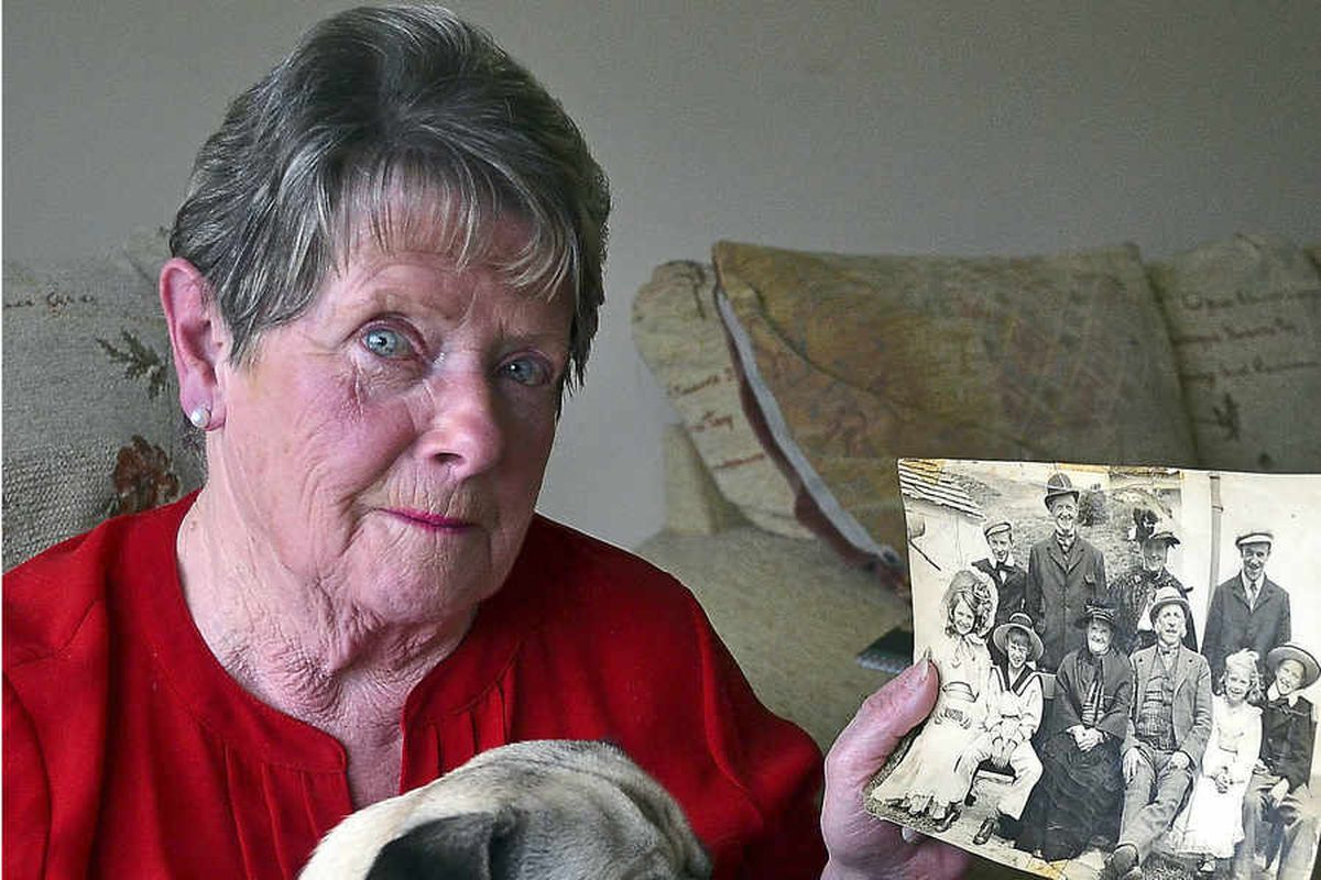 Pontesbury woman talks about her family's time on film