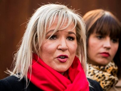 Time to make Irish partition history, Michelle O'Neill tells supporters