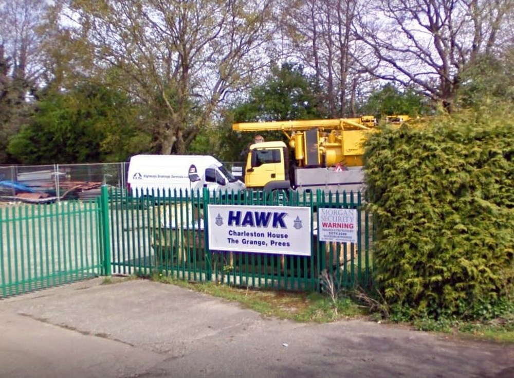 Auction to be held to sell off Hawk Plant assets