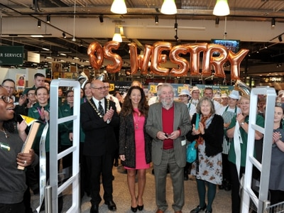 New Morrisons opens its doors in Oswestry - in pictures