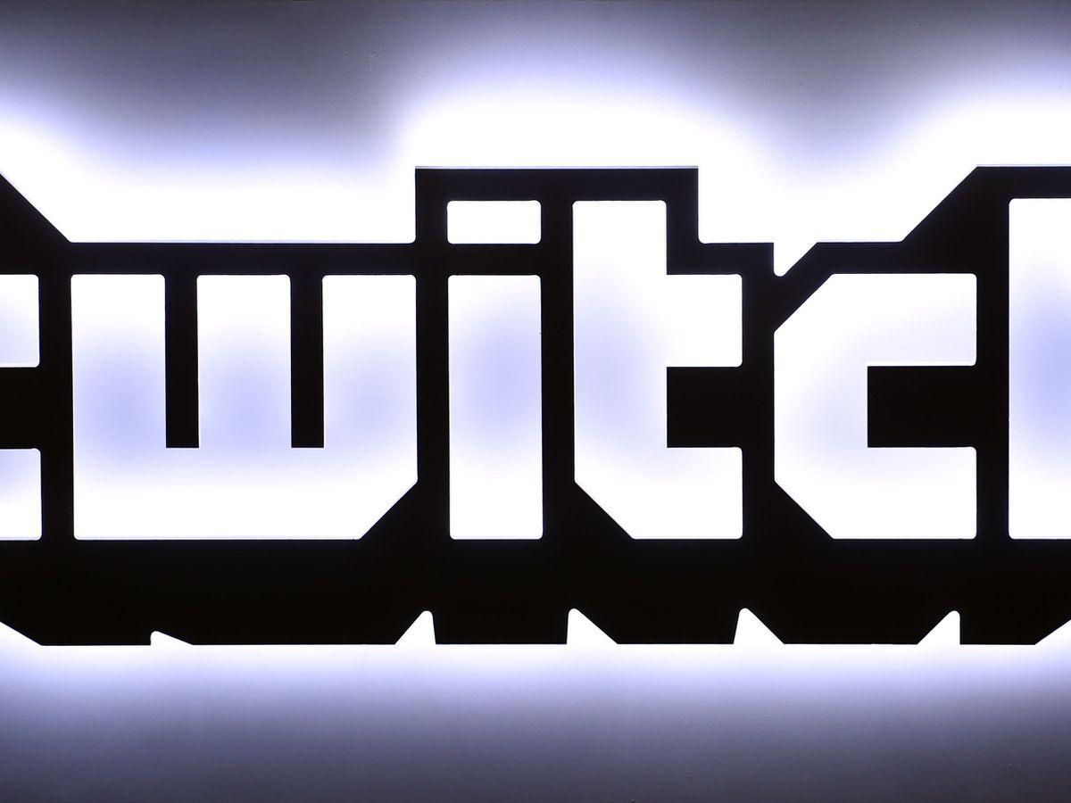 The Twitch logo