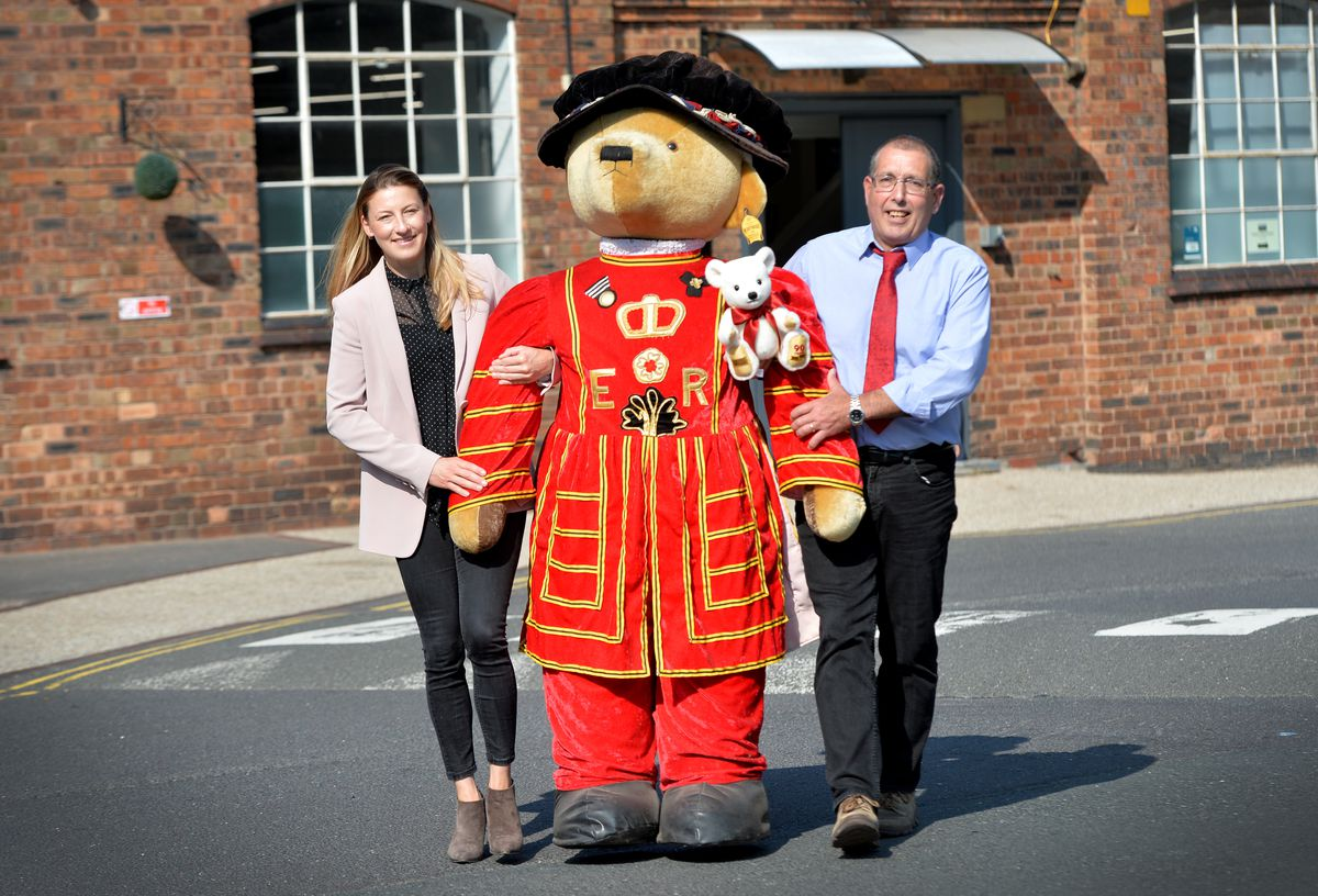 Merrythought Bear shop in Ironbridge celebrated its 90th birthday by asking its followers to send in their stories and memories from the past 90 years. Pictured left is MD Sarah Holmes and gen manager Ian Wicklen