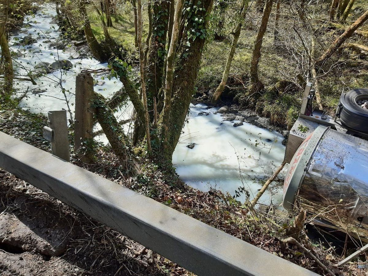 Milk in the River Dulais