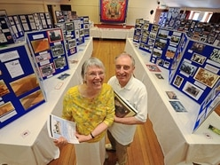 Claverley villagers enjoy historical exhibition