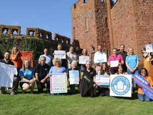 Representatives from most of the charities involved in the project came together for the launch.