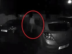 WATCH: Would-be car thief caught on CCTV near Oswestry