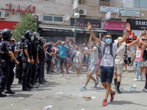 Thousands protest in Tunisia over health and economic problems