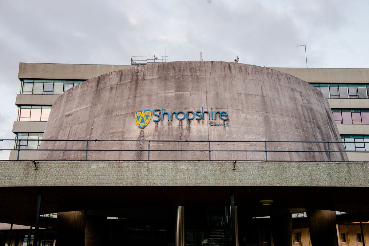 Councillors clashed over the budget agreed by Shropshire Council