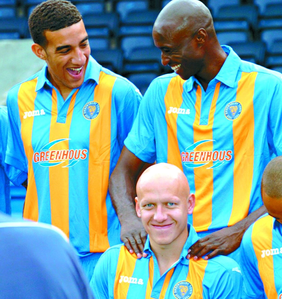 Morgan is set to be reunited with former Salop colleagues at the match, which officially opens the new community pitch
