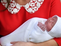 Delight for millions as new royal baby arrives on St George's Day