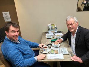 Craig Williams and Glyn Davies