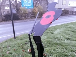 Shadow soldiers that helped raise funds for war memorials snapped in Ludlow
