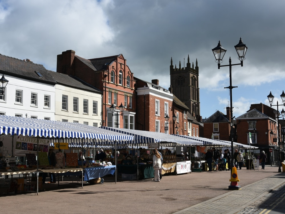 Ludlow Market and play areas closed due to Covid-19 crisis