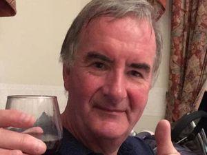 Lez Dean former AFC Telford mascot Benny Buck who has died aged 61