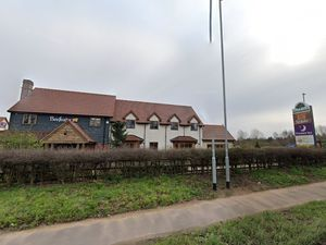 The drive-thrus were planned next to The Three Fishes pub on the A41. Photo: Google