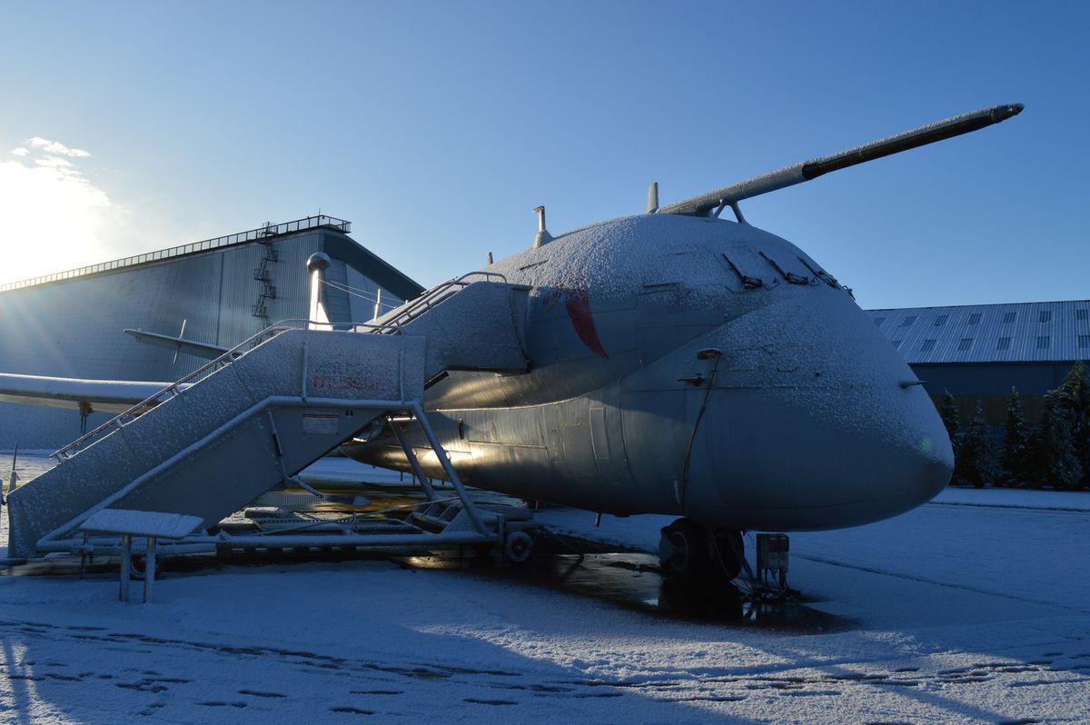 Nimrod at RAF Cosford