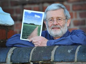 "LAST COPYRIGHT EXPRESS&STAR TIM THURSFIELD-26/11/20 John Goodier, from Newport has just published a new book called ""That Old Feller's 28-Day Challenge: Healthier Habits for a Happier Life.""  It's a programme designed to help people suffering with mild anxiety and/or depression to work in practical ways towards feeling happier.."