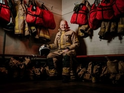 Fireman Phil's final duty as he retires after 43 years