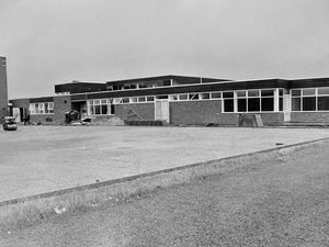 Schools are back, and in September 1970 some children in Wellington were going to a brand new school. This is Ercall Junior School in July 1970 in the final stages of completion. It was built to replace the old Prince's Street School, which closed.