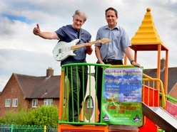 Enjoy live music and entertainment at Market Drayton's Party in the Park