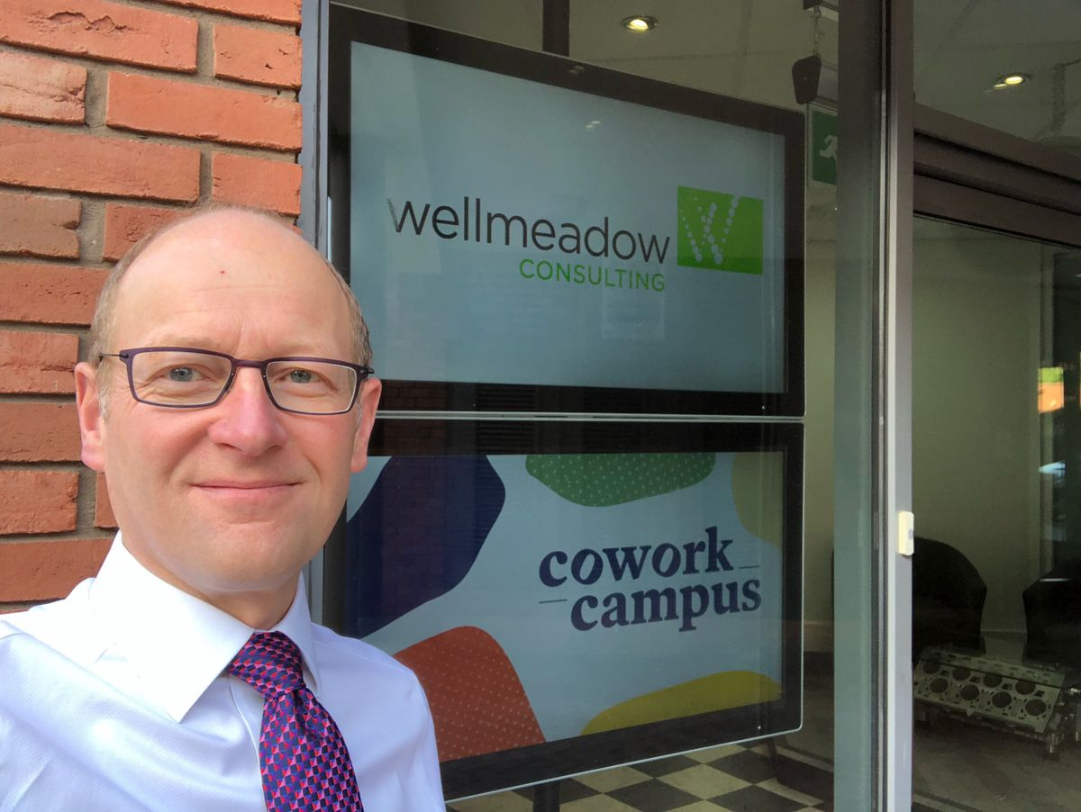 David Parry, of Wellmeadow Consulting, based in Roushill