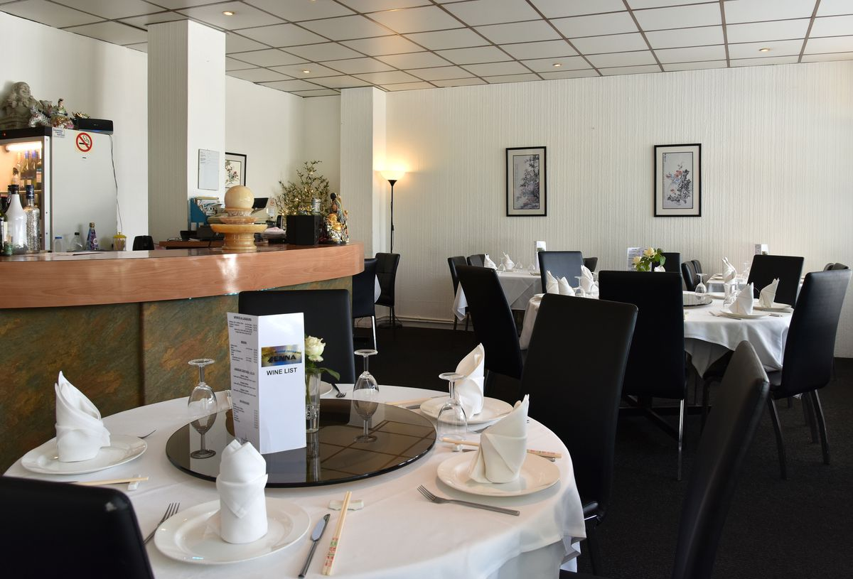 The restaurant is clean, flooded with natural light and pleasant