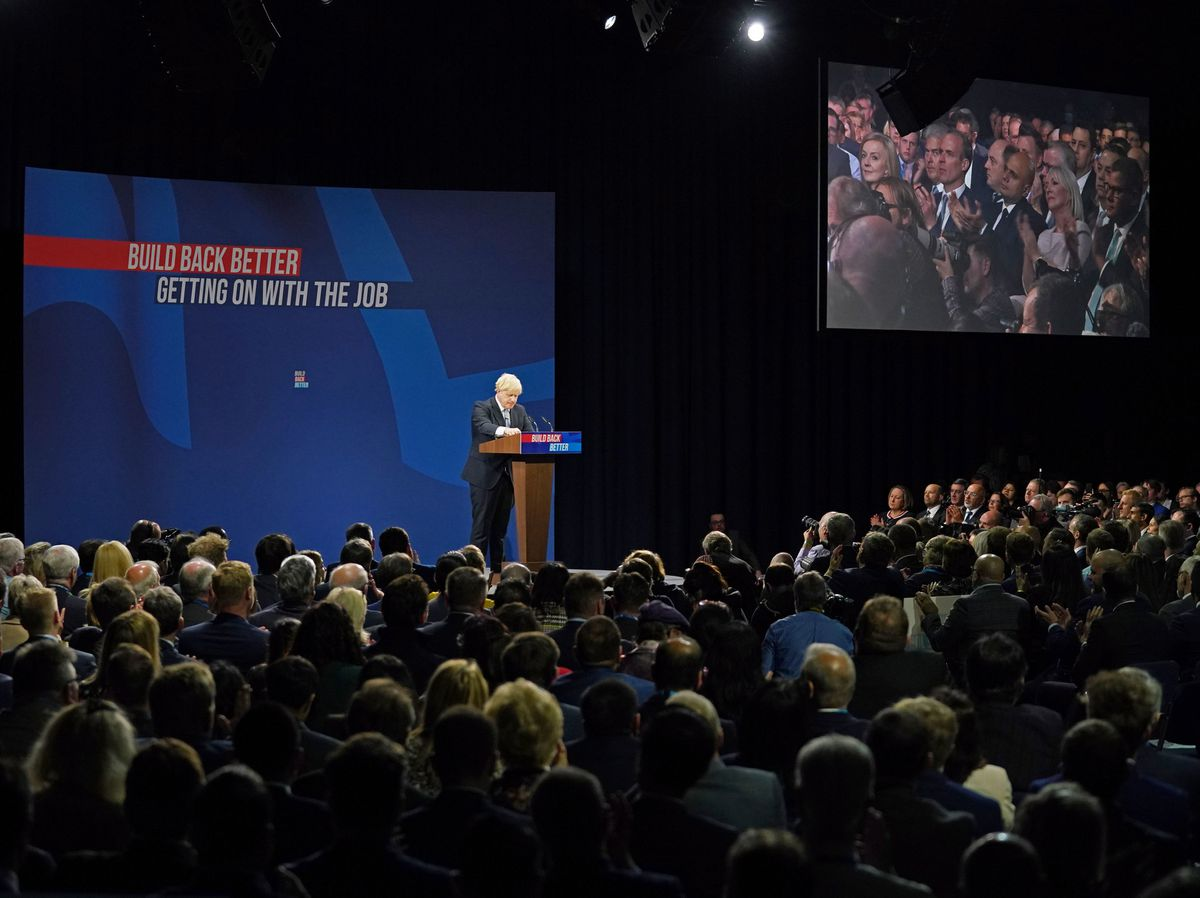 Tory Conference - superspreading?