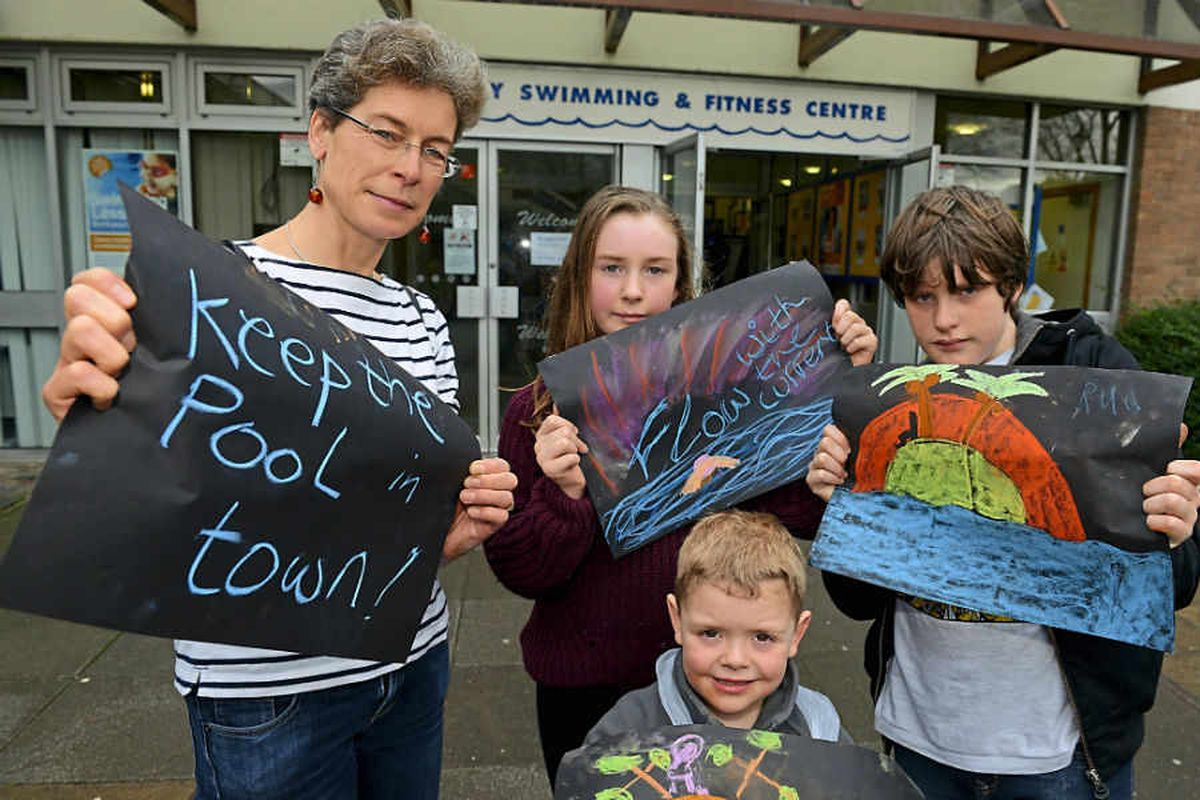 Video: Shrewsbury swimming pool campaigners' joy at public response to 'use it or lose it' appeal
