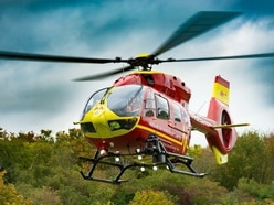 Woman airlifted to hospital after crash near Wem