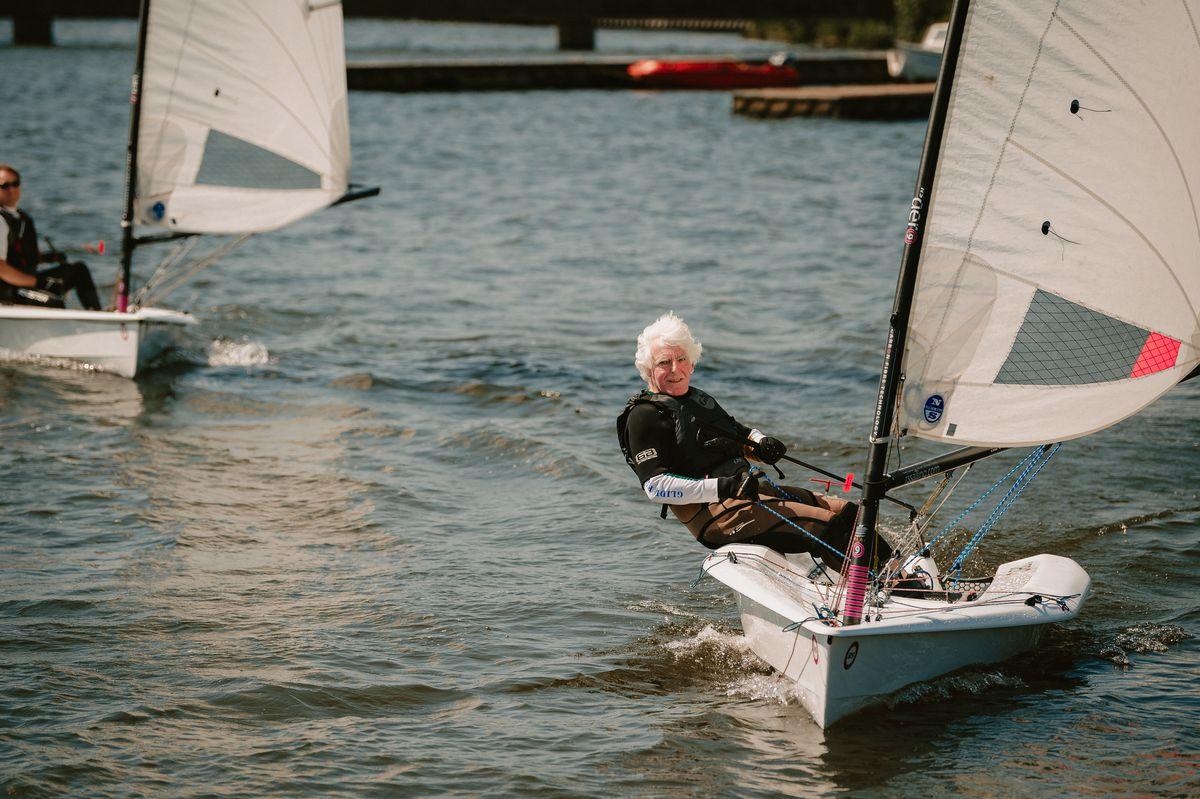 Commodore David Partridge at Chelmarsh SC