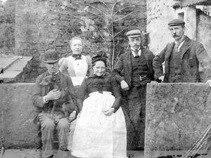 One of the Croxton family photos taken around 1898