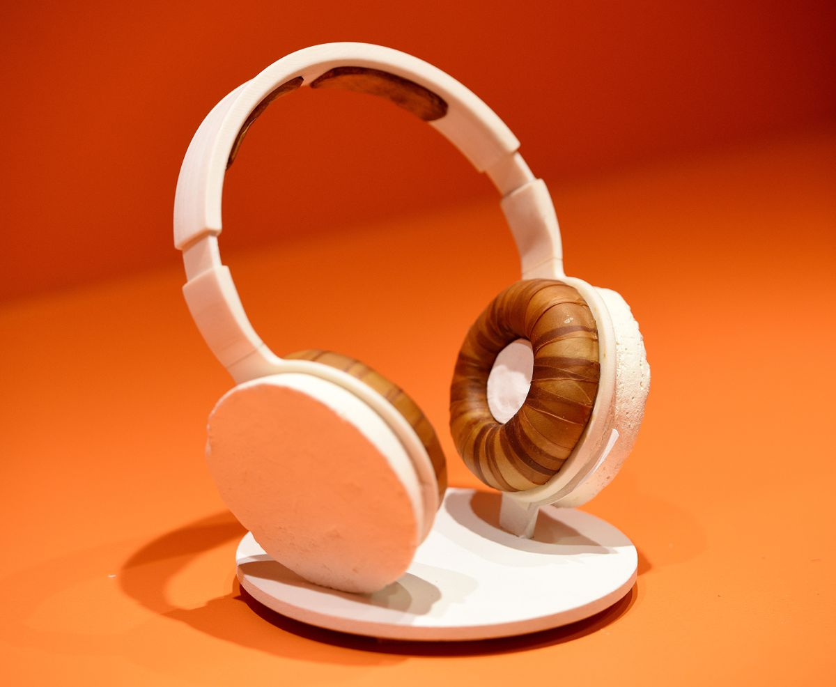 Headphones made from fungus